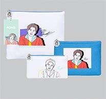 Pond : Portrait Art Series - Clutch Bag