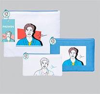Phuwin : Portrait Art Series - Clutch Bag