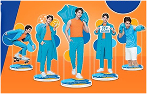 Pao X Bright : Exclusive Standee Set