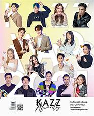 KAZZ : Vol. 181 - Kazz Awards 2021 Cover A (Photocard : Bright)