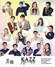 KAZZ : Vol. 181 - Kazz Awards 2021 Cover A (Photocard : Tay Tawan)