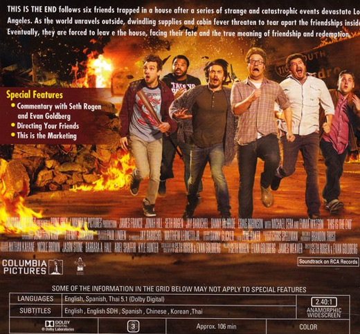 This Is The End [ DVD ]