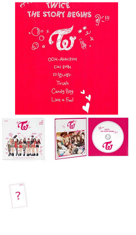 TWICE : The Story Begins (Thailand Edition)